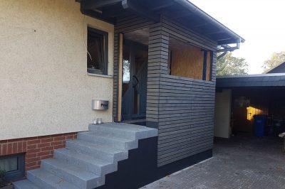 Anbau an der Haustür gebaut von Thorsten Stielau aus Wolfsburg