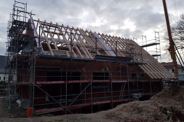 Dachstuhl gebaut von Thorsten Stielau aus Wolfsburg