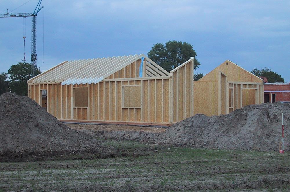 Holzrahmenbau konstruiert von Thorsten Stielau aus Wolfsburg