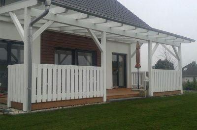 Weiße Terrasse gebaut von Thorsten Stielau aus Wolfsburg